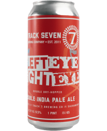 Track 7 Left Eye Right Eye Triple India Pale Ale beer can 16oz
